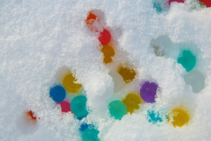 Colors in the Snow