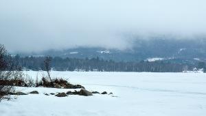 foggy lake 2